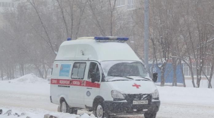 Оренбург Зима Скорая помощь Медики Болезнь