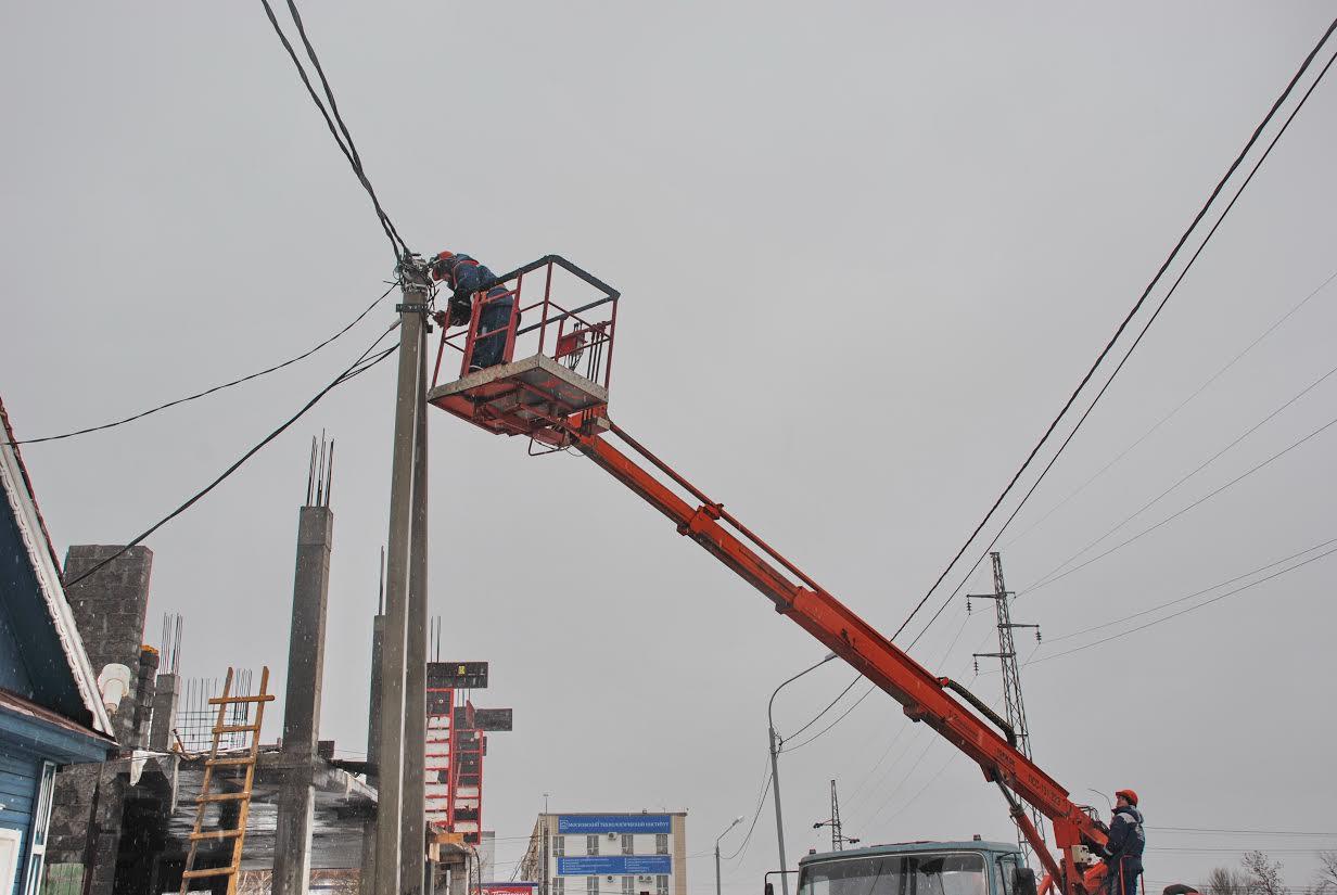 Оренбургские энергетики