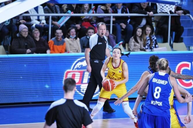 Баскетбол «Надежда» - «Динамо». Фото: ПБК «Надежда»