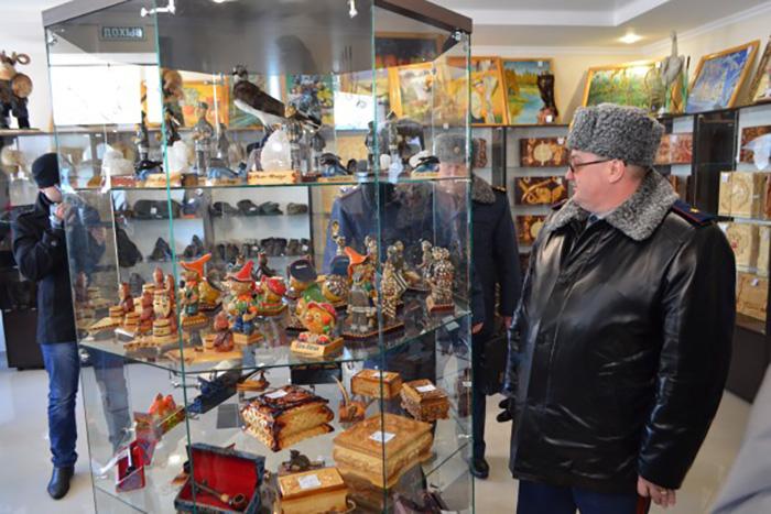 Магазин сувениров. Фото: пресс-служба УФСИН России по Оренбургской области