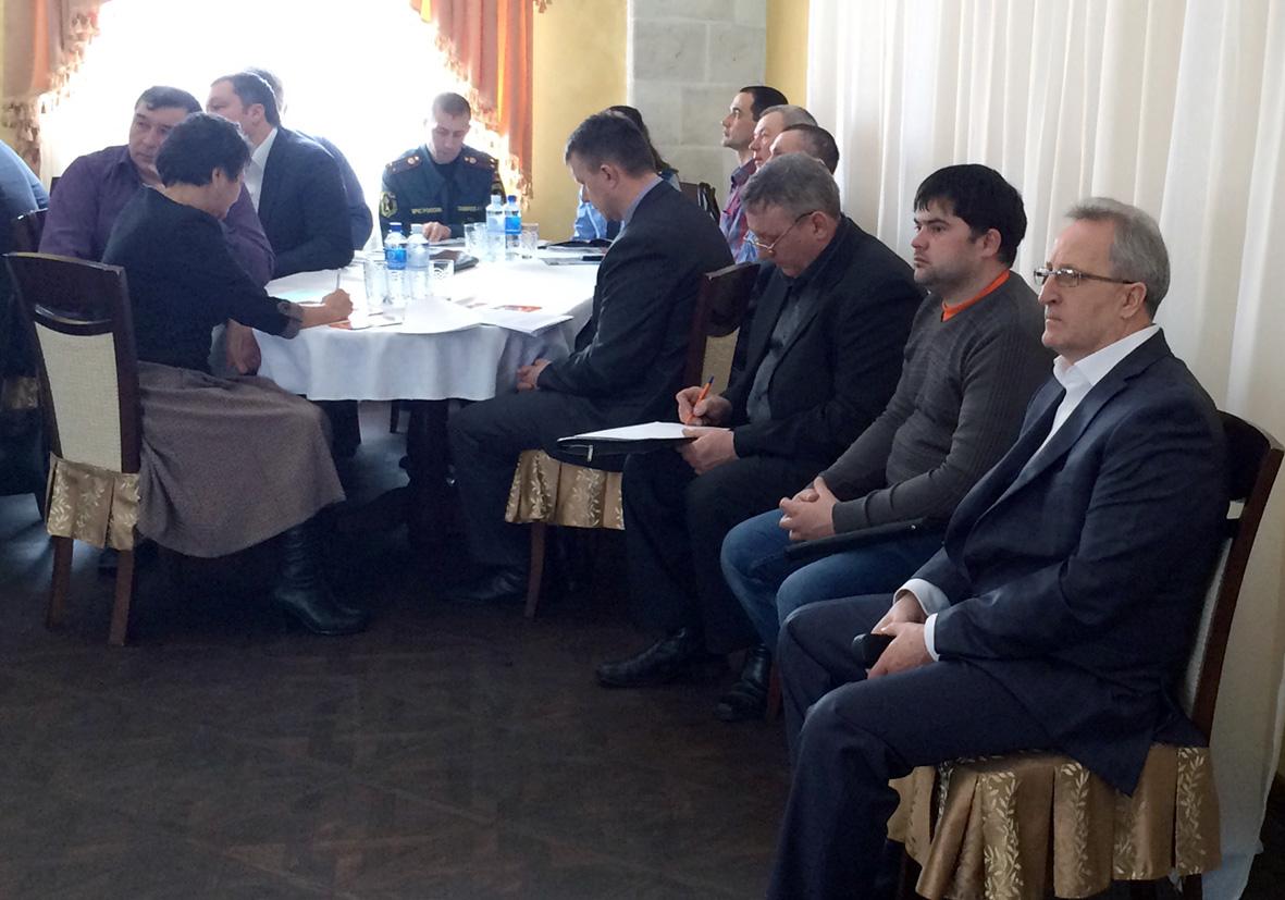 Встреча предпринимателей  в Соль-Илецке