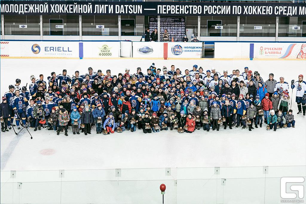 новый год Сарматы Хоккей