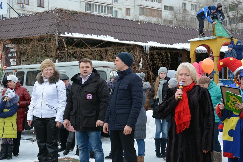 Масленица в 17-м округе областного центра