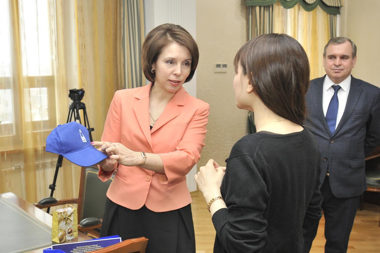 Шино Хидака ОГУ Жанна Ермакова
