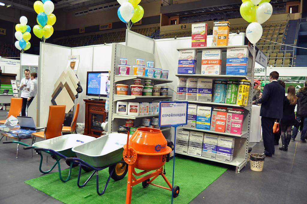 Стройландия открыла свой стенд на выставке «СТРОЙУРАЛ 2016»