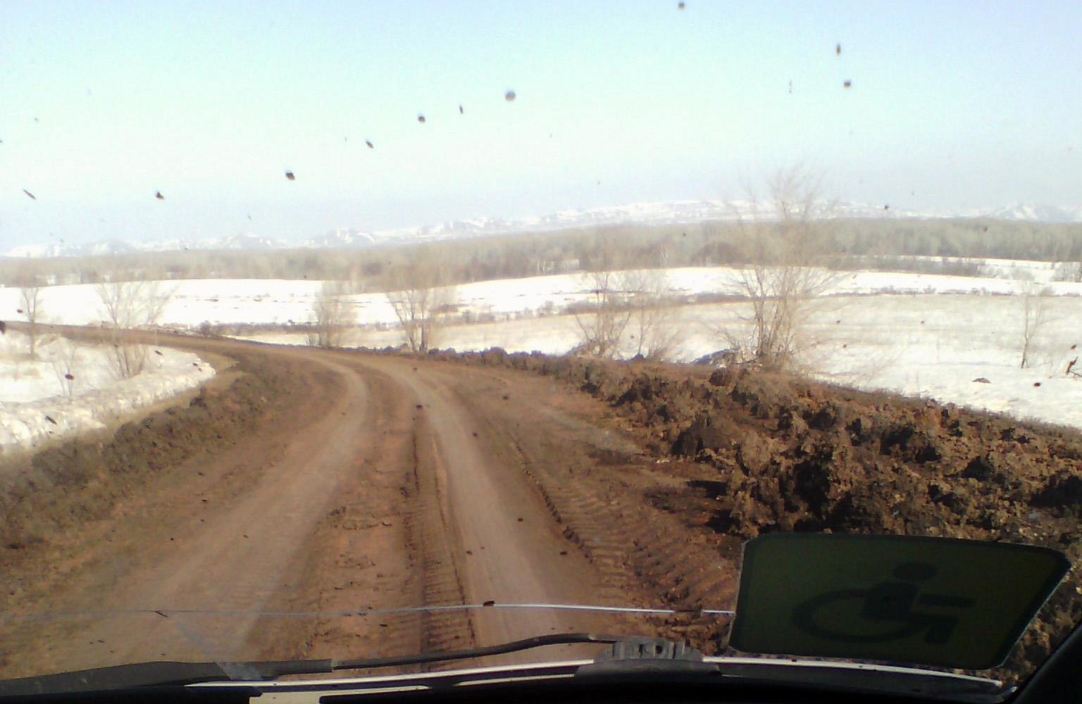 дороги на Исянгулово