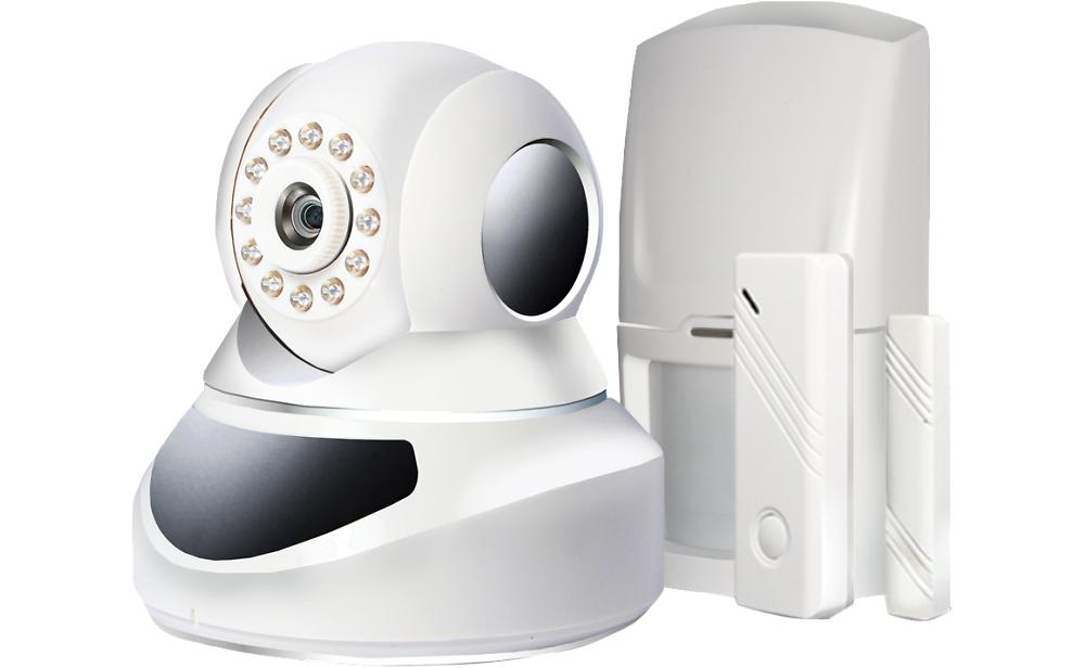 система видеонаблюдения Ginzzu HS-K07W