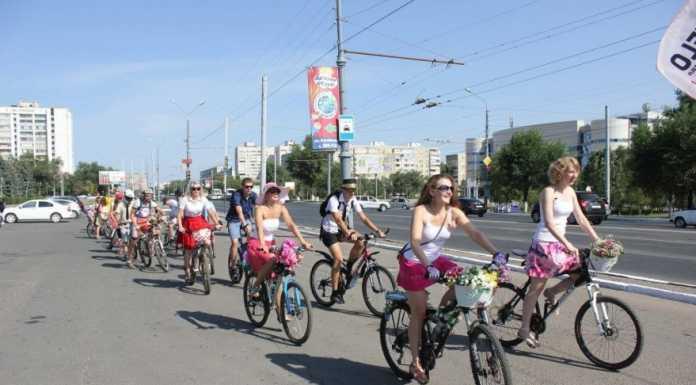 Оренбург женский велопробег