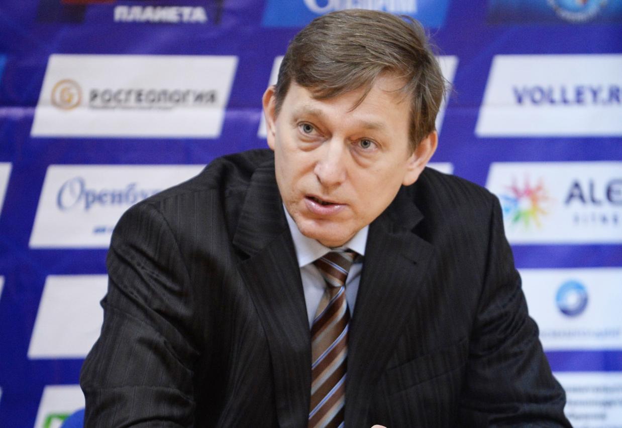 Владимир Терентьев, главный тренер волейбольной команды «Нефтяник»