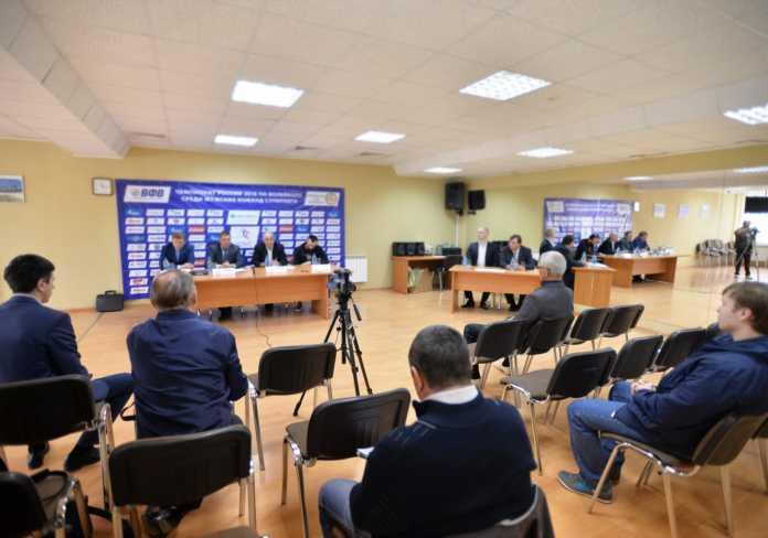 пресс-конференция волейбольного клуба «Оренбуржье»