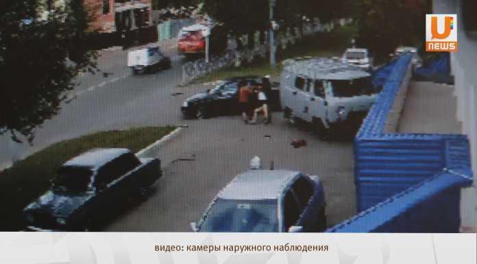 Двое неизвестных на «Приоре» похитили девушку в центре Оренбурга