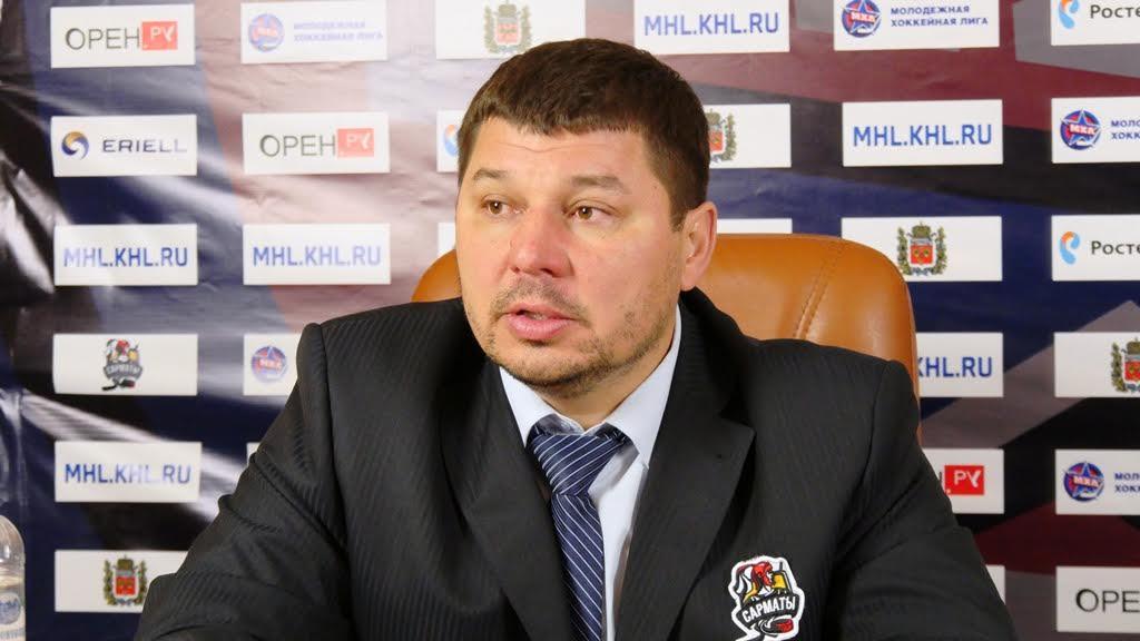 Главный тренер «Сарматов» Дмитрий Стулов