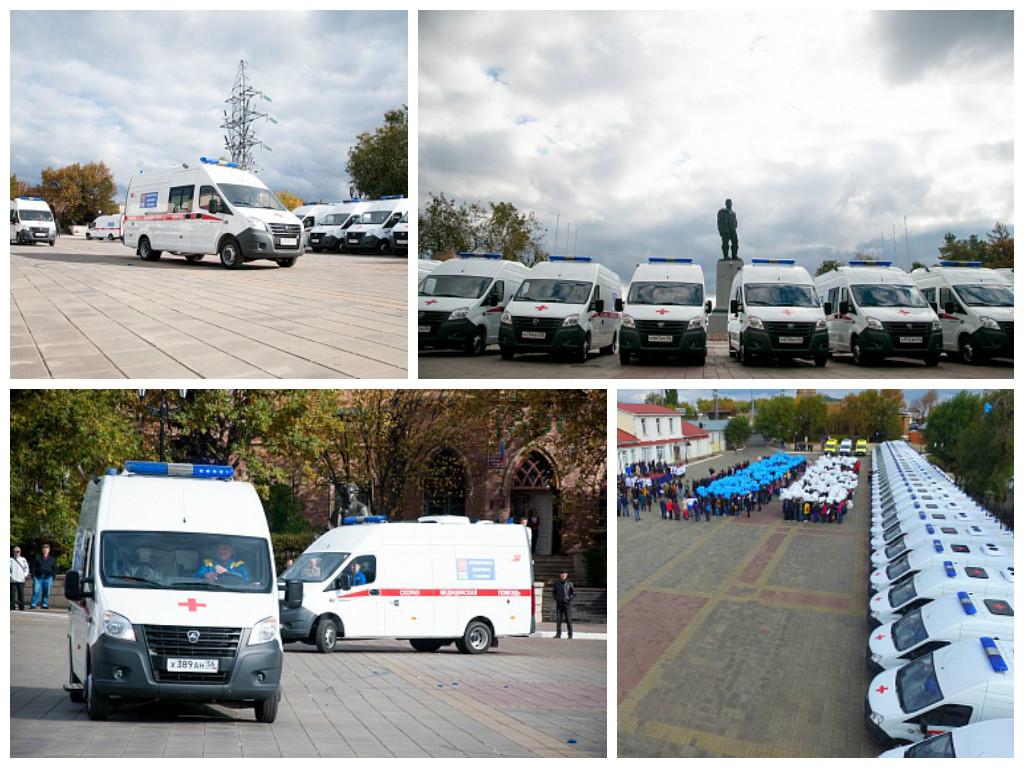 Юрий Берг: «Оренбургская область стала регионом-лидером по количеству новых «скорых», полученных в этом году»