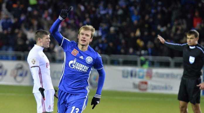 Матч «Оренбург» - «Локомотив» Счет 1:1
