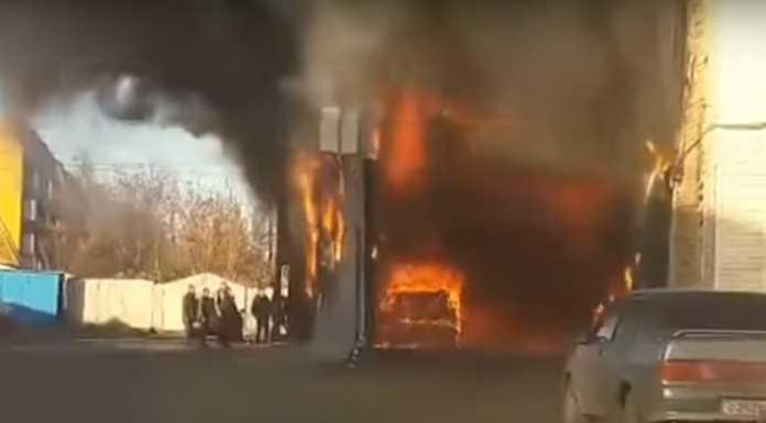 Автосервис Пожар на улице Кавказской
