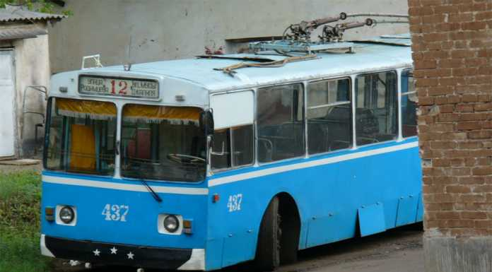 троллейбусное депо оренбург