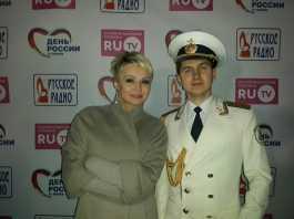 Николай Калашников и Катя Лель