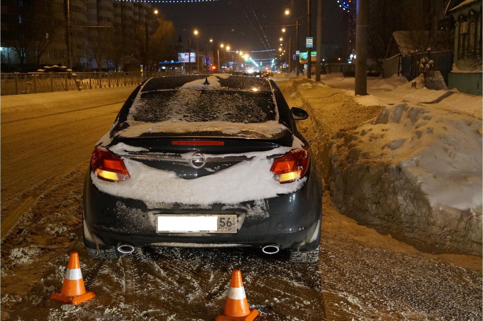 ВОренбурге Опель Insignia сбил 10-летнего школьника