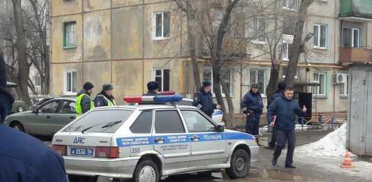 Оренбург. Нападение на инкассаторов