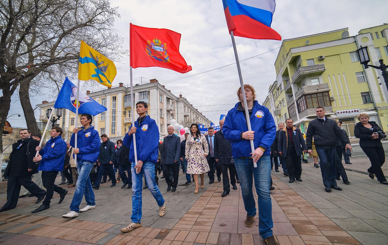 1мая вОренбурге пройдут праздничные шествие имитинг