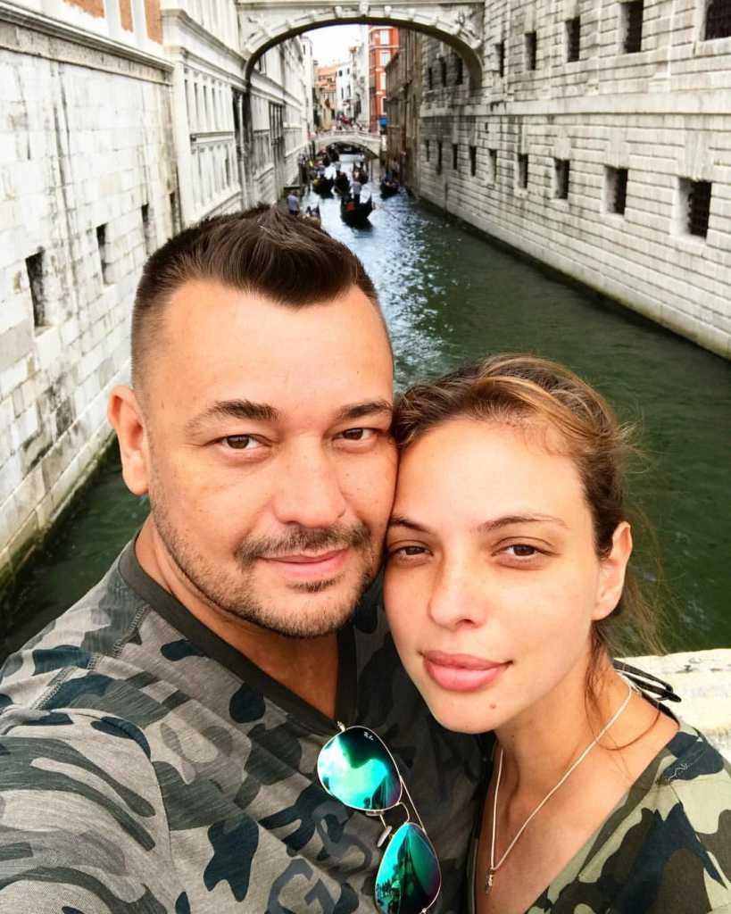 Сергей Жуков и Регина Бурд обвенчались