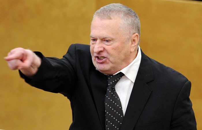 Жириновский пообещал некупаться собнаженными мужчинами