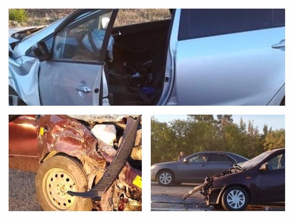 Натрассе Оренбург-Орск влобовом столкновении пострадали 3 человека