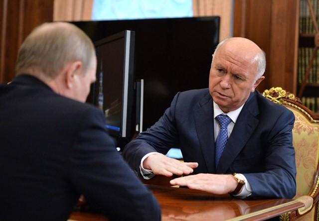 Путин снял Меркушкина споста губернатора Самарской области