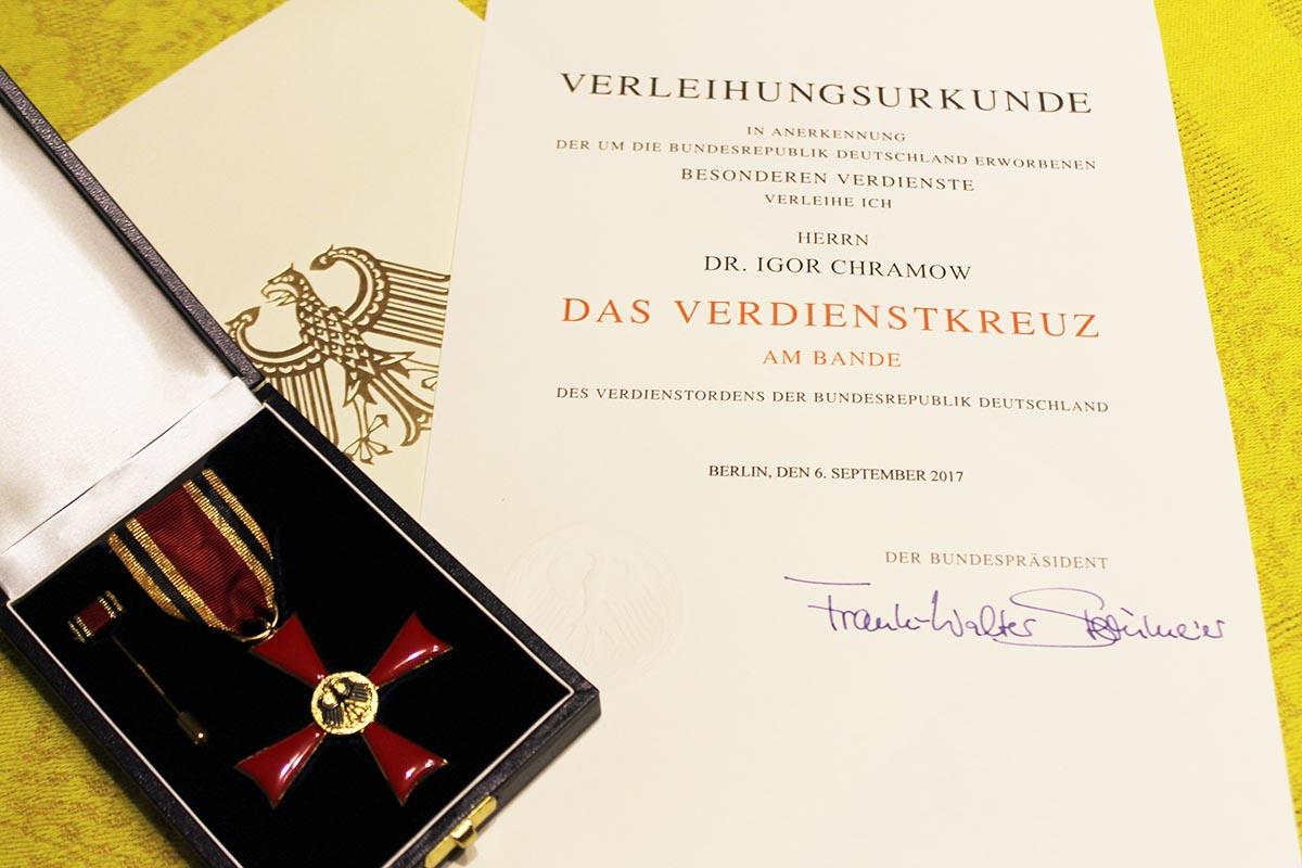 Впервый раз оренбуржца наградило немецкое руководство