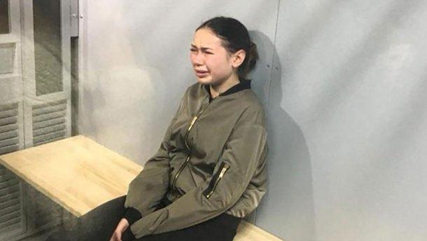 Алена Зайцева плакала в суде