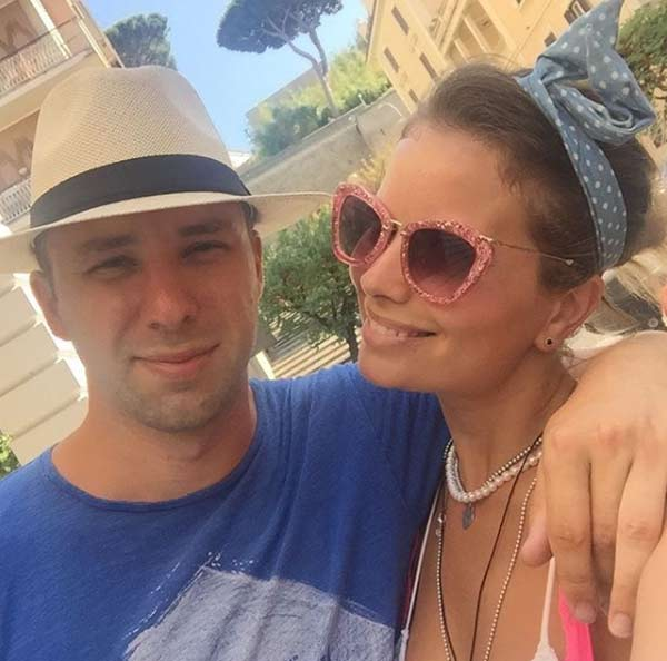 Анастасия Осипова с мужем