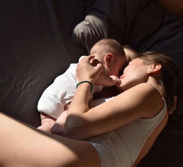 Анастасия Осипова с сыном