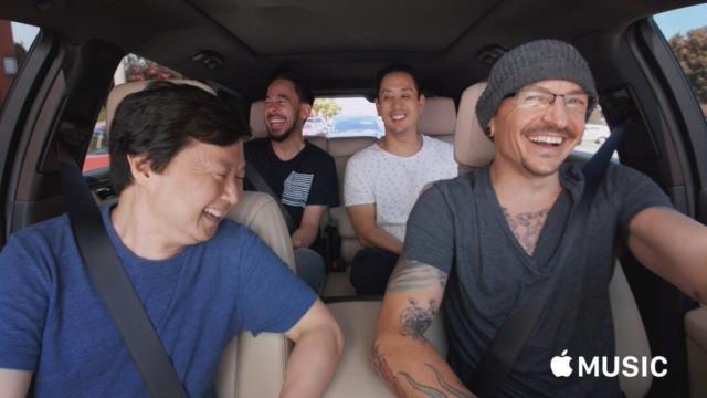 Carpool Karaoke с Честером Беннингтоном