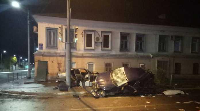 Оренбург ДТП на пересечении улиц Комсомольской и Рыбаковской