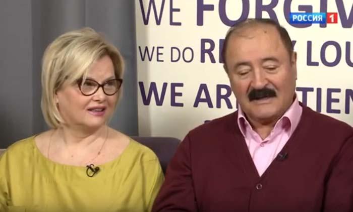 Тамара Акулова и ее муж