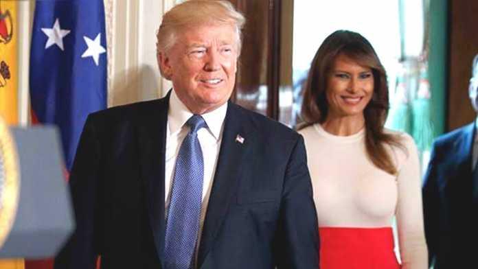 Откровенный наряд Мелании Трамп на благотворительном мероприятии в Белом доме вызвал волну критики