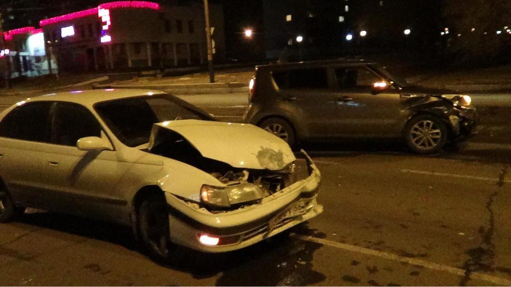 ВОрске в итоге ДТП пострадали два человека