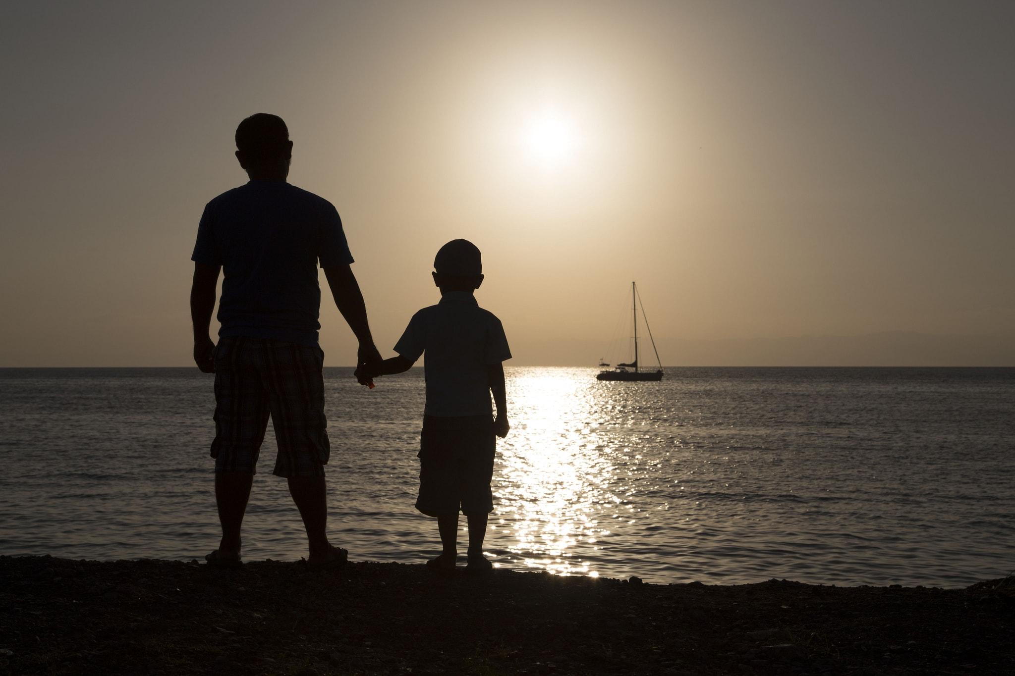 Отец и сын в картинках