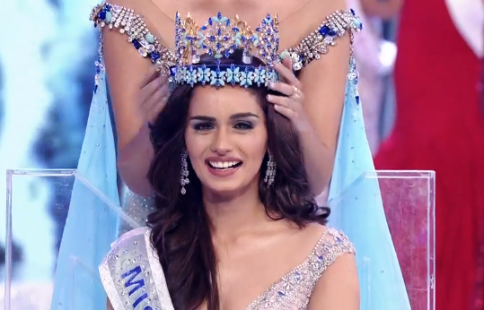 Мануши Чхиллар мисс Мира 2017 из Индии