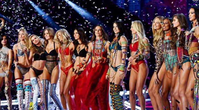 В Шанхае прошел показ коллекции Victoria's Secret