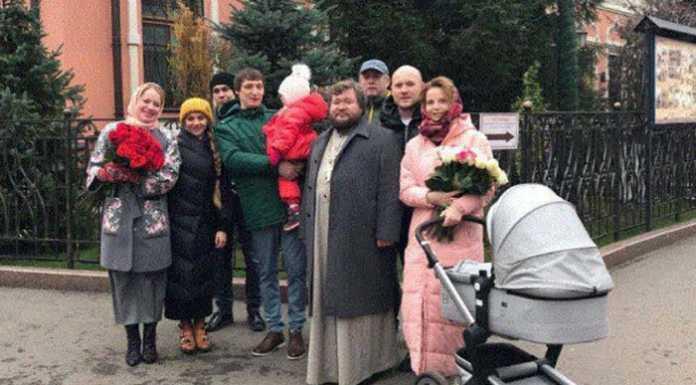 Зоя Бербер и Александр Синегузов покрестили дочь