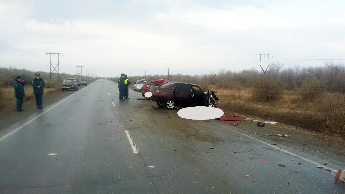 Четверо человек погибли вДТП натрассе «Гай-Ириклинский»