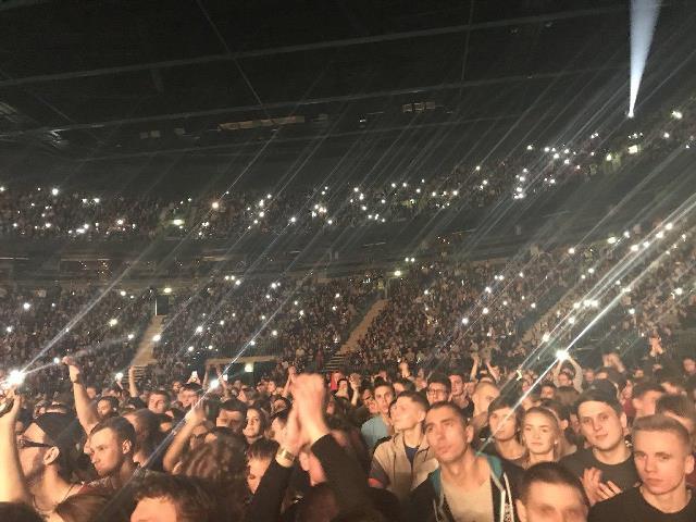 Оксимирон собрал аншлаг на концерте в «Олимпийском»