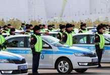 Дорожная полиция Казахстана