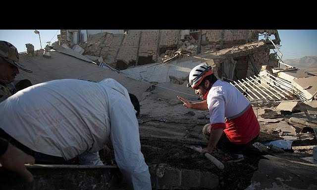 Землетрясения в Иране и Ираке