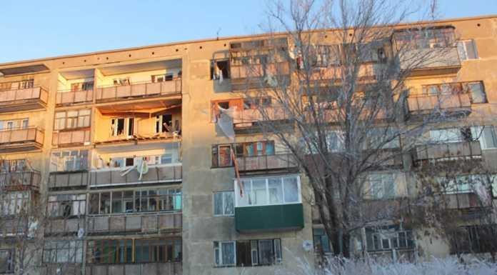 Взрыв в поселке Новорудный