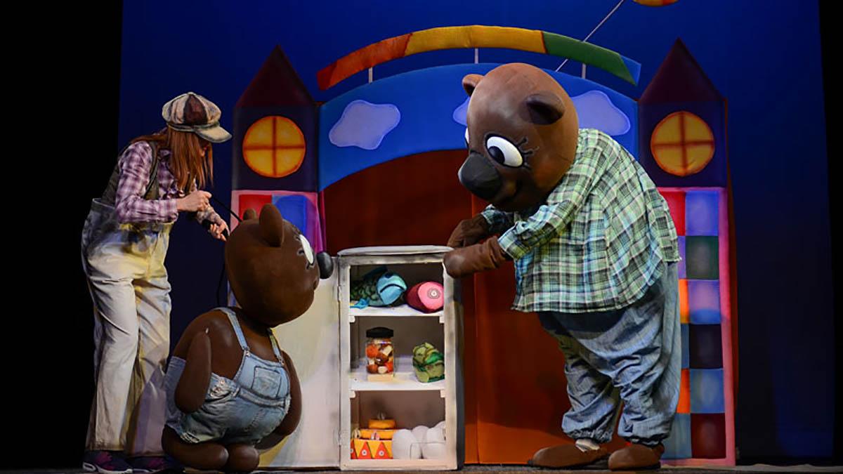 Областной театр кукол приготовил спектакль «Медвежонок Рим-тим-ти» (3+)