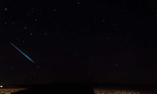 Сегодня ночью — пик метеорного потока Геминиды