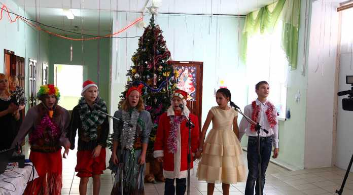 Сотрудники следственного управления поздравили с наступающим Новым годом воспитанников детского дома