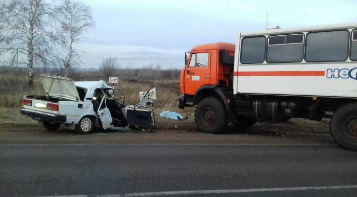 ДТП под Оренбургом 4 декабря